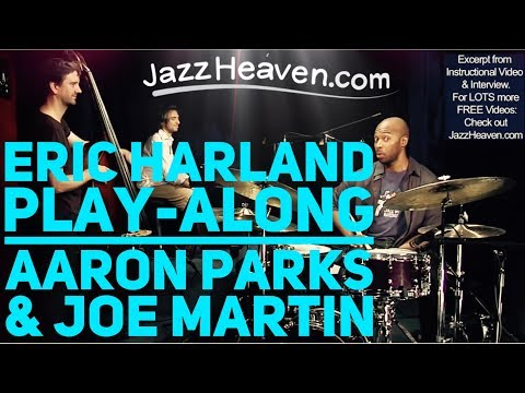 Eric Harland Trio Blues with Aaron Parks & Joe Martin JazzHeaven.com