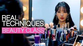 getlinkyoutube.com-연말 뷰티클래스 Real Techniques Beauty Class l 이사배(Risabaeart)