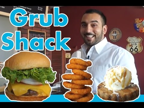 مطعم برغر و اكثر | The Grub Shack Review