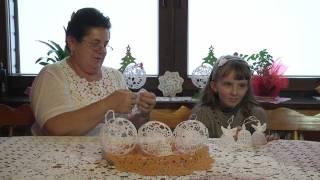 getlinkyoutube.com-Świąteczne cuda z koronki