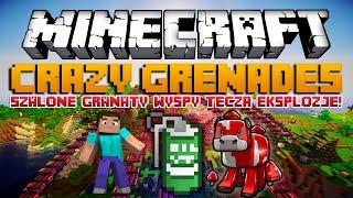 getlinkyoutube.com-Minecraft Mody: Crazy Grenades Mod - SZALONE GRANATY, WYSPY, TĘCZA, EKSPLOZJE!