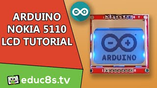 getlinkyoutube.com-Arduino Tutorial: Nokia 5110 84x48 LCD display, how to drive with Arduino