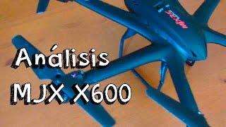 getlinkyoutube.com-ANALISIS DRONE MJX X600 EN ESPAÑOL: Hexacopter barato calidad precio