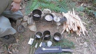 getlinkyoutube.com-My Ultra Light Camp Cooking