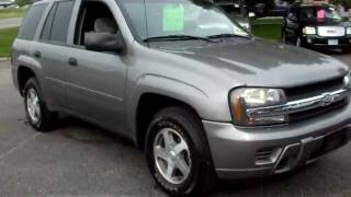 getlinkyoutube.com-2006 Chevrolet Trailblazer LS, 4x4, 4.2 6cyl, Automatic, LOADED, nice SUV!!!