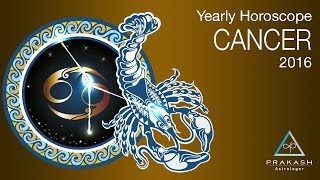 Cancer Yearly Horoscope 2016 In Hindi | Dynamics | Prakash Astrologer