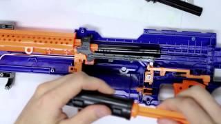 getlinkyoutube.com-Unleashed Solid Stage 2 Installation for Nerf Elite Alpha Trooper by Orange Mod Works