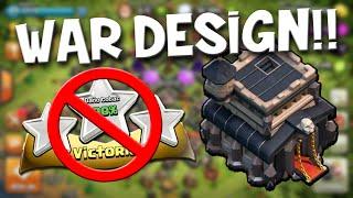 """getlinkyoutube.com-""""¡¡IMPOSIBLE HACER 🌟🌟🌟 ESTRELLAS!! Diseño de Guerra TH9 - Clash of Clans"""
