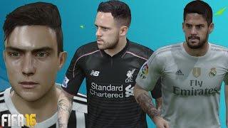 getlinkyoutube.com-FIFA 16 Player Tattoos Update Ft. Dybala, Isco, Memphis and more!