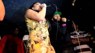 ELEGANTHOODNESS live performance by LORE'L #lovenhip #MOBWIVES Ramona Rizzo surpise guest