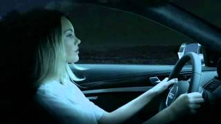 getlinkyoutube.com-2014 Audi S8 Matrix LED headlight demo