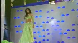 getlinkyoutube.com-Turkish belly dancer Tanyeli in Turkish Tv