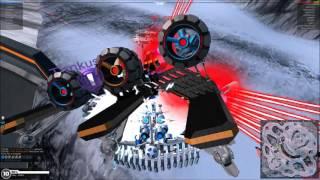 getlinkyoutube.com-Robocraft - RIP Megabots - Tesla Kill Montage #1