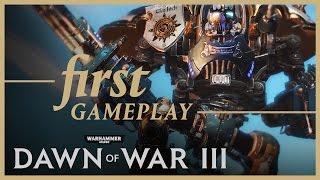 Warhammer 40000: Dawn of War III - Pre-alfa Játékmenet