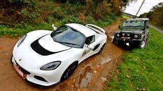getlinkyoutube.com-SPORTS CAR vs OFF ROAD
