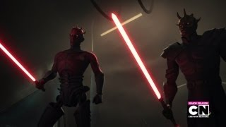 getlinkyoutube.com-Darth Maul & Savage Opress VS Obi Wan & Adi Gallia