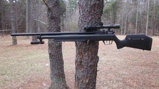 getlinkyoutube.com-Benjamin Marauder Rifle + hillairgun.com longer shroud w/baffles