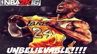 getlinkyoutube.com-NBA 2K16  UNBELIEVABLE KOBE BRYANT @ MYPARKK!!!!!!!!!!!!!! - Prettyboyfredo