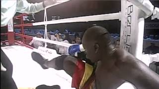Alex Leapai  vs Okello Peter KO Round 3
