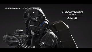 getlinkyoutube.com-STAR WARS Battlefront Level 50 and Shadow Trooper Unlock