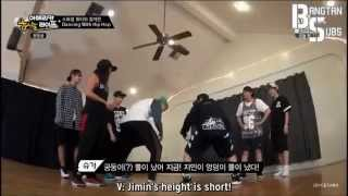 getlinkyoutube.com-RAPMON & JIMIN TWERKING | BTS IN LA: AMERICAN HUSTLE LIFE