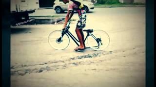 getlinkyoutube.com-Minha bike rebaixada rat-look ;-)