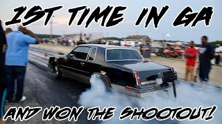 NIGHT TRAIN TURBO 442 1ST TIME IN GA AND WON THE SHOOT OUT AT SHUT UP AND RACE1