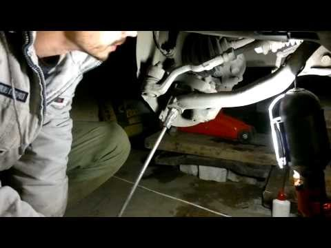 Снятие шаровой BMW X3