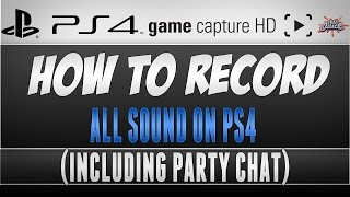 getlinkyoutube.com-How To Record PS4 Game Chat and Party Chat [Elgato Game Capture]