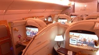 getlinkyoutube.com-Emirates A380 First Class エミレーツ ファーストクラス搭乗記