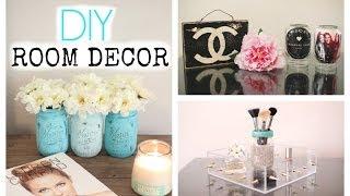 getlinkyoutube.com-DIY Mason Jar Room Decor! Cute & Affordable