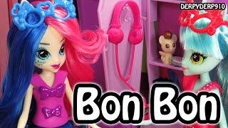 getlinkyoutube.com-Equestria Girls Spring Break 1 Bon Bon Sweetie Drops MLP My Little Pony Toy Doll Review/Parody/Spoof