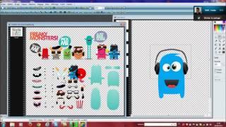 getlinkyoutube.com-Tuto Comment crée un personnage PhotoFiltre 7