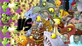getlinkyoutube.com-Plants vs Zombies 2 Epic Hack : The ThreeBaller Cannon vs Each Freakin' Zombots