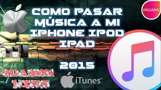 getlinkyoutube.com-Como pasar musica a mi iphone,ipod, 2015 ultima versión Itunes 12