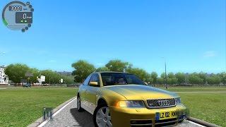 getlinkyoutube.com-City Car Driving 1.4.1 Audi S4 B5 2000 [G27]