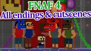getlinkyoutube.com-All FNAF 4 endings and cutscenes!