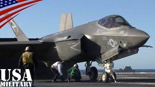 getlinkyoutube.com-F-35C ライトニングII (艦載型)・初の空母カタパルト発艦テスト