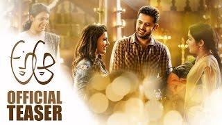 A Aa Official Teaser || Nithiin || Samantha || Trivikram Srinivas || Mickey J Meyer