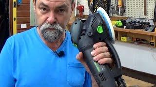 getlinkyoutube.com-# 52 Why is the Festool rotex sander so good. No Barry the pug in the tub.