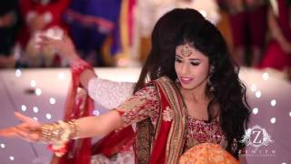 getlinkyoutube.com-HIRA and SID Wedding best Mehndi Dance 2013 at the RIVER ROOM