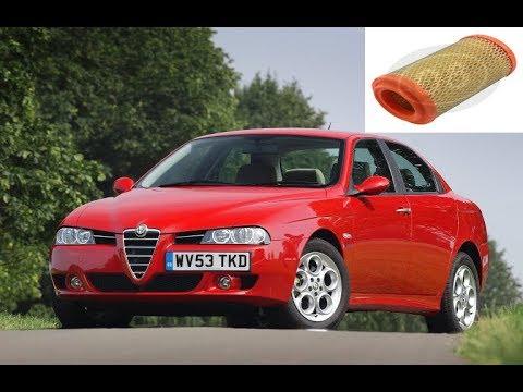 Расположение салонного фильтра в Alfa Romeo Spider