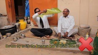 getlinkyoutube.com-How to eat with the hands: Wilbur Sargunaraj