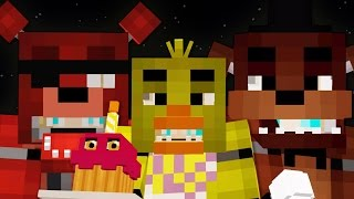 getlinkyoutube.com-FNAF! Five Nights At Freddy's Minecraft Map & Texture Pack!