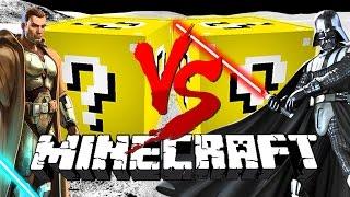 Minecraft: SPACE LUCKY BLOCK CHALLENGE | Star Wars Jedi Fight!!