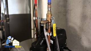 ComfortSpec Home Inspection Flushing A Water Heater