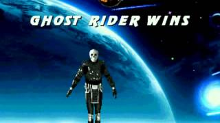 Mortal Kombat Cyborg Chaos New Char Ghost Rider (Finished) Test Commands And Fatalities