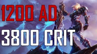 getlinkyoutube.com-1200 AD RIVEN - 3800 CRIT [ Yeni AD Eşyası ]