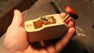 getlinkyoutube.com-Make a Wood Thumb / Palm Plane