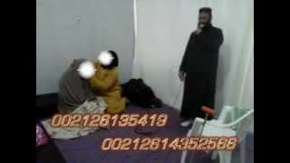 getlinkyoutube.com-مشهد خطير وحقيقي لجني يحاول تمزيق ملابس امراة